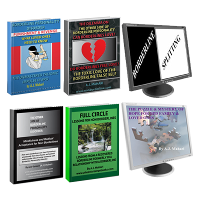 4 BPD Loved Ones Ebooks - Puzzle Mystery of Hope & Splitting and BPD Audio  Program Bundle