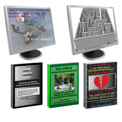 3 Non Borderline Ebooks 2 Audio Programs Bundle