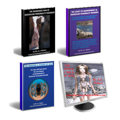 Core Wound of Abandonment in BPD 3 Ebook Series and False Self To Authentic Self Audio Program