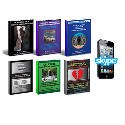 1-50 Minute Coaching Session with 6 Ebook Bundle For Non Borderlines