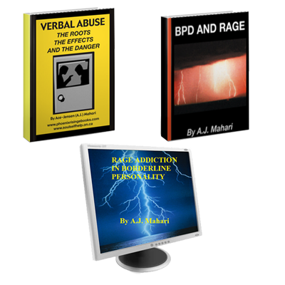 Verbal Abuse - BPD and Rage Ebooks and Rage Addiction in BPD Audio Program