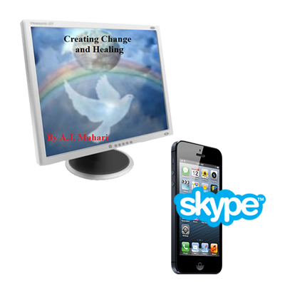50 Minute Phone Life Coaching Session and Change - Healing and Recovery Audio